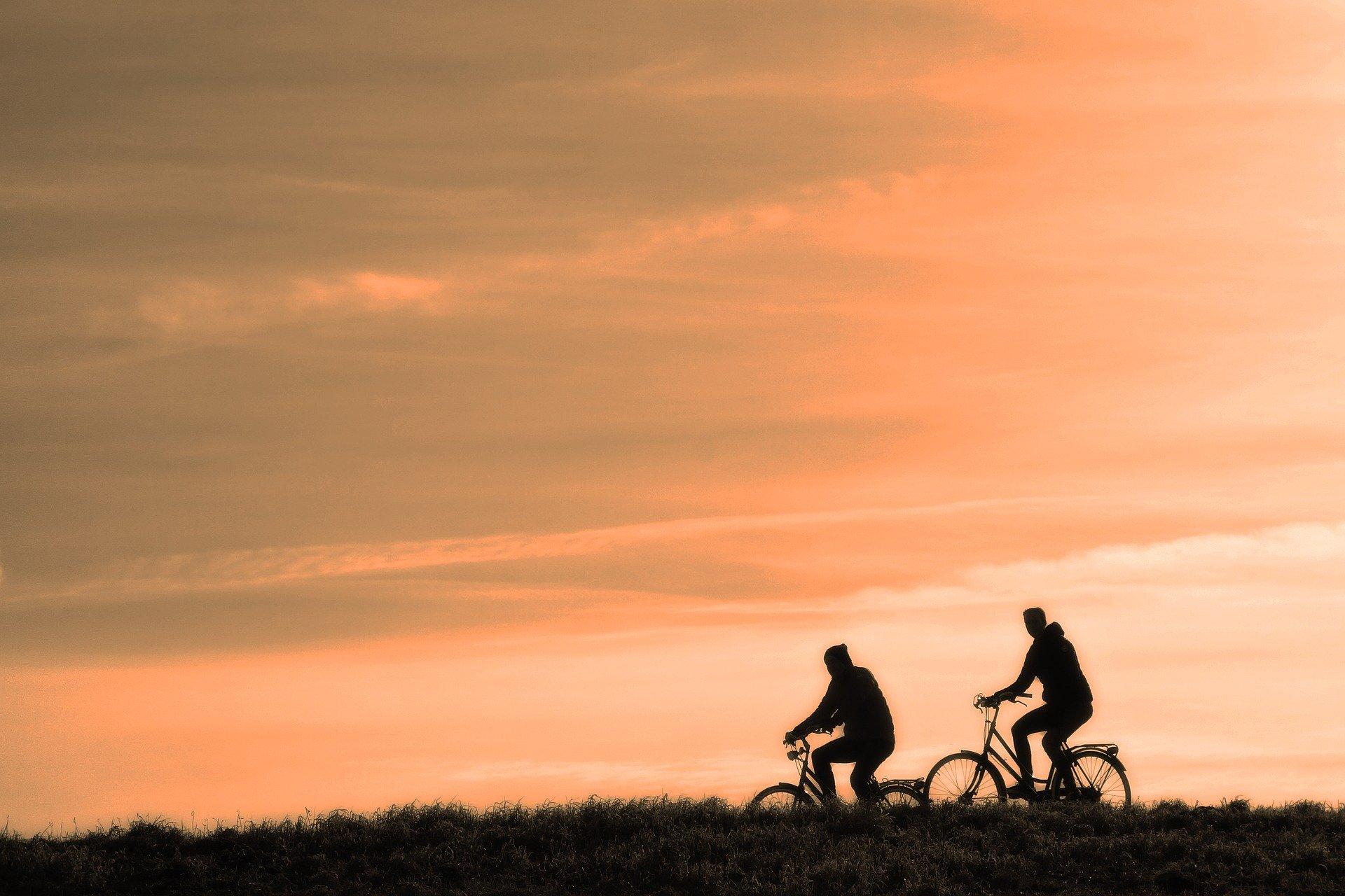 Du vélo en famille