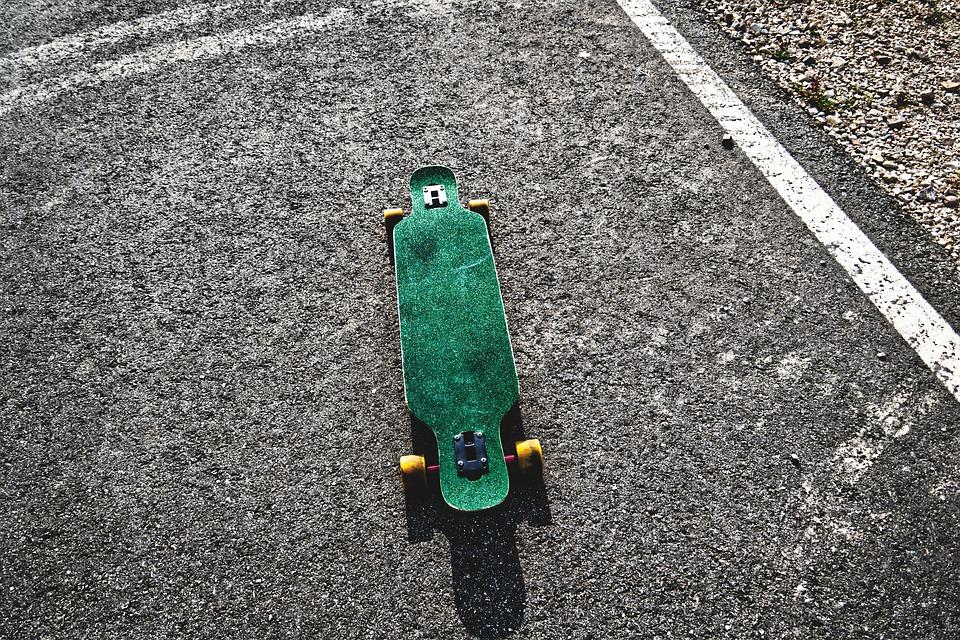 La notion d'équilibre en skateboard est crutial pour un débutant